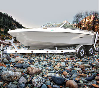 Custom Built Boat Trailers