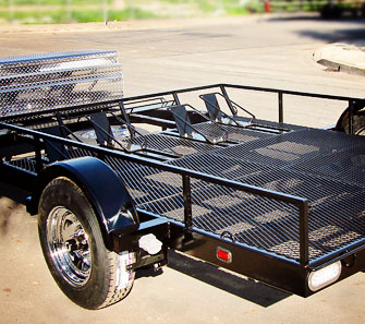 Custom Built Motorcycle Trailers