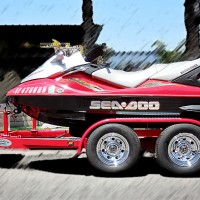SHAD 2 Custom PWC Trailer