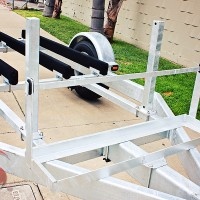 SHAD 2 Galvanized Standup Double Jet Ski Trailer