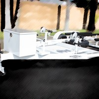 SHAD 2 PWC Trailer - White