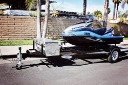 Single Jet Ski Trailer - Shadow Trailers