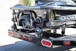Single PWC Trailer, Black, Shadow Trailers