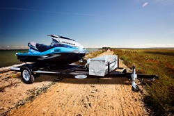 SHAD 1 - Single Jet Ski Trailer - Shadow Trailers
