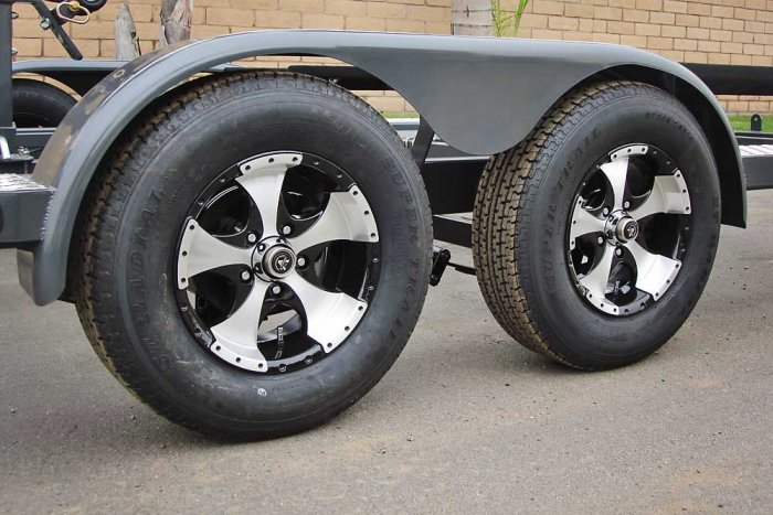 Teardrop Trailer Fenders - Shadow Trailers