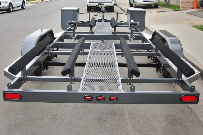 Center Mesh Walkway Option - Shadow Trailers