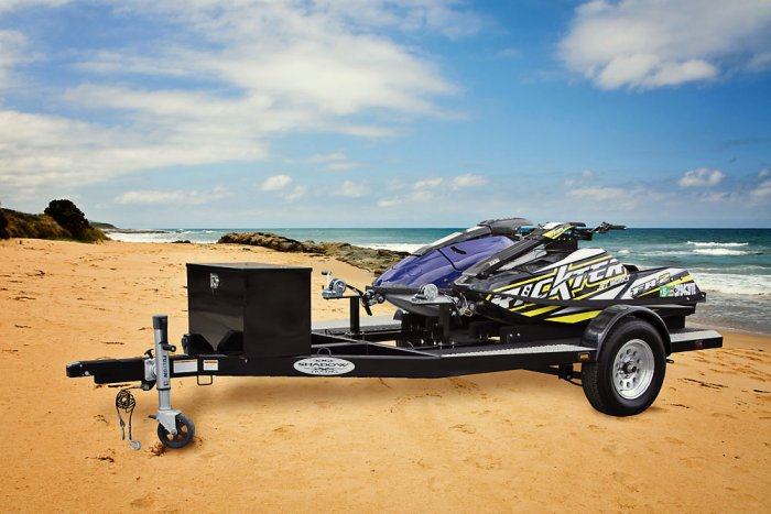 SHAD 2 Standup Jet Ski Trailer - Shadow Trailers