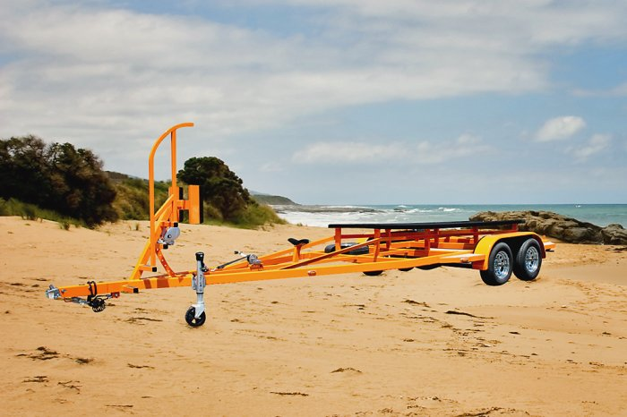 Custom Built Domn8r Boat Trailer by Shadow Trailers