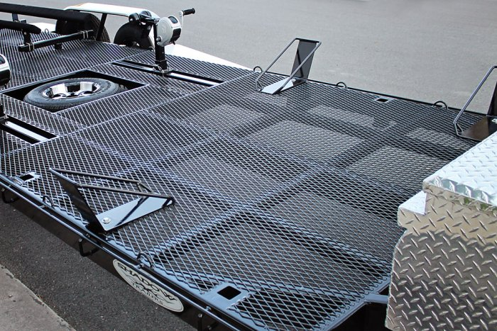 Removable Motorcycle Boots Trailer Option - Shadow Trailers
