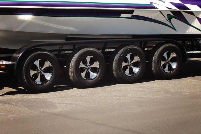 Quad Axle Trailer Option - Shadow Trailers