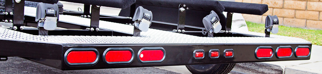 Retractable Tie-Downs Trailer Option - Shadow Trailers