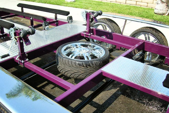 Spare Tire with Mount Trailer Option