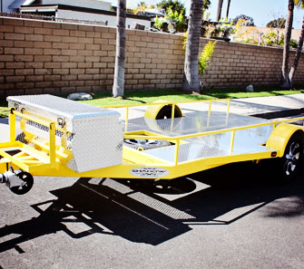 Custom Flatbed and Utility Trailers