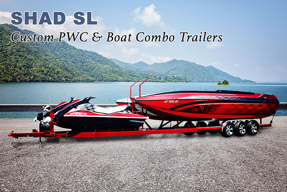 PWC & Boat Combo Trailers - Shadow Trailers